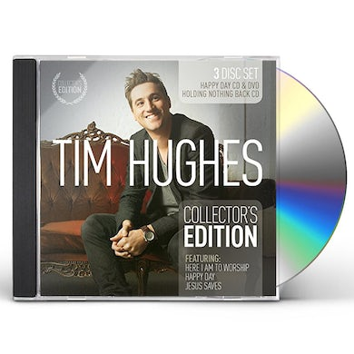 Tim Hughes COLLECTOR'S EDITION 3-PACK CD