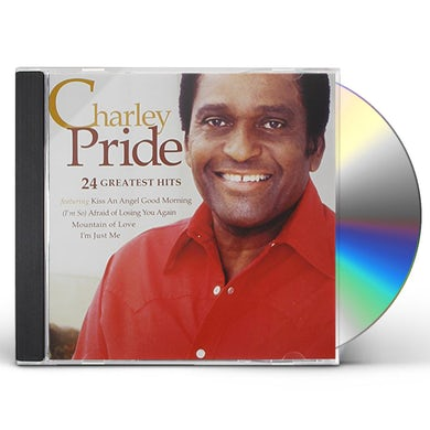 Charley Pride 24 GREATEST HITS CD