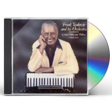 Frank Yankovic GREATEST POLKAS & WALTZES 2 CD
