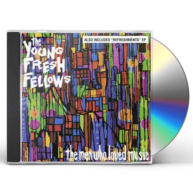 Young Fresh Fellows MEN WHO LOVED MUSIC CD