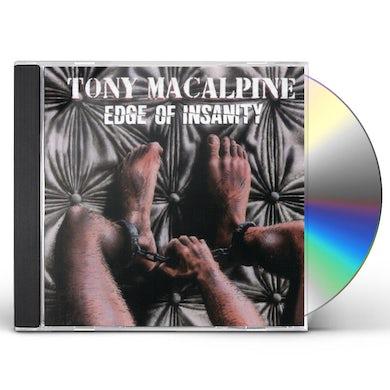 Tony MacAlpine EDGE OF INSANITY CD