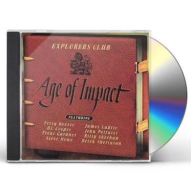 Explorers Club AGE OF IMPACT CD