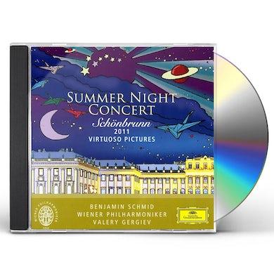 Valery Gergiev SUMMER NIGHT CONCERT SCHOENBRUNN 2011 CD