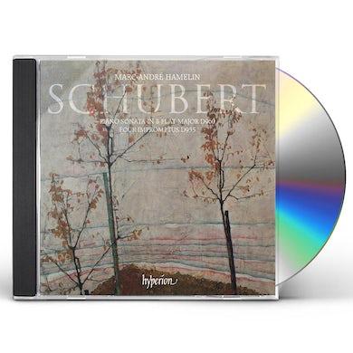Marc-Andre Hamelin Schubert: Piano Sonata & Impromptus CD