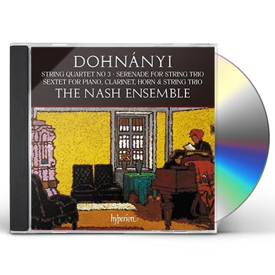 DOHNANYI: STRING QUARTET NO.3 SERENADE OP.10 CD