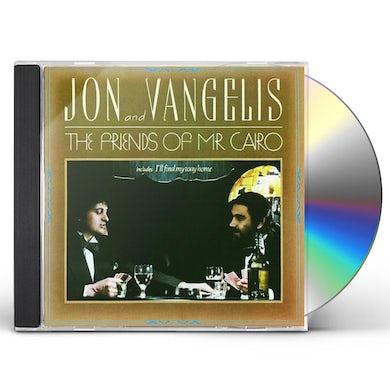 JON & VANGELIS FRIENDS OF MR CAIRO CD