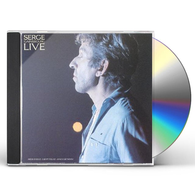 Serge Gainsbourg LIVE CD