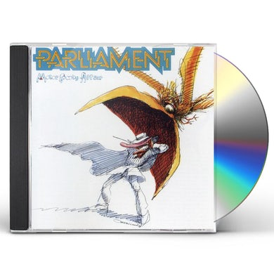Parliament MOTOR BOOTY AFFAIR CD