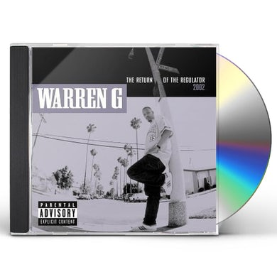 Warren G RETURN OF THE REGULATOR CD