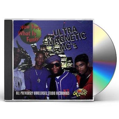 UltraMagnetic MC's NEW YORK WHAT IS FUNKY CD