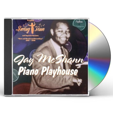 Jay McShann PIANO PLAYHOUSE CD