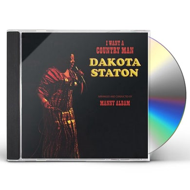 Dakota Staton I WANT A COUNTRY MAN CD