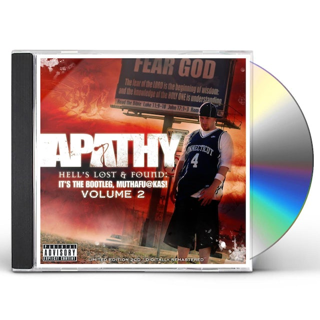 Apathy HELL'S LOST & FOUND: IT'S THE BOOTLEG MUTHAFUCKAS CD