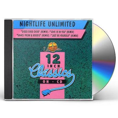 Nightlife Unlimited DISCO CHOO CHOO/LOVE IS IN YOU CD
