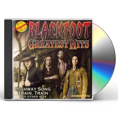 Blackfoot GREATEST HITS CD