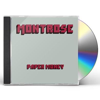 Montrose PAPER MONEY CD