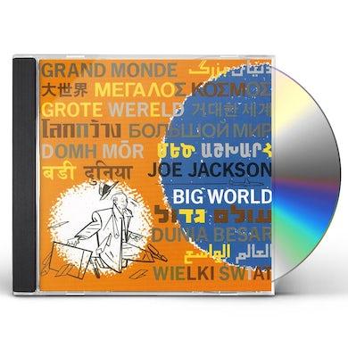 Joe Jackson BIG WORLD CD
