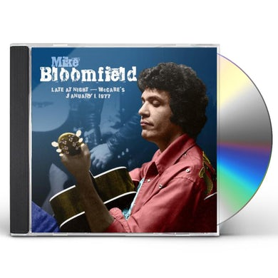 Mike Bloomfield LATE AT NIGHT: MCCABES JANUARY 1,1977 CD
