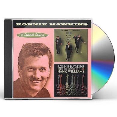 Ronnie Hawkins MR DYNAMO / SINGS THE SONGS OF HANK WILLIAMS CD