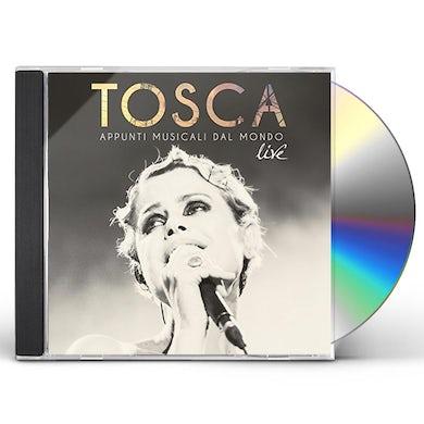 Tosca APPUNTI MUSICALI DAL MONDO (LIVE) CD