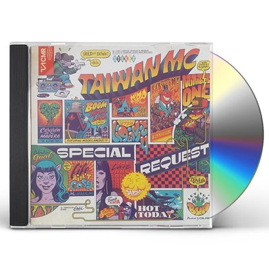 Taiwan Mc SPECIAL REQUEST CD