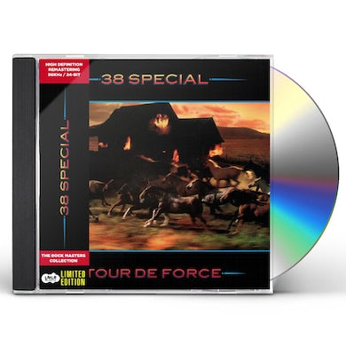 38 Special TOUR DE FORCE CD