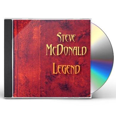 Steve McDonald LEGEND CD
