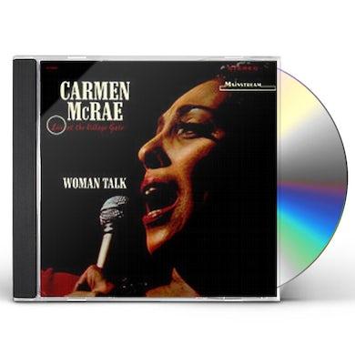 Carmen McRae WOMAN TALK: LIVE AT THE VILLAGE CD