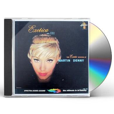Martin Denny EXOTICA VOL. III CD