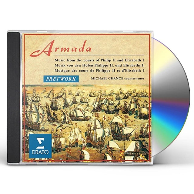 Fretwork ARMADA -MUSIC FROM THE COURTS OF CD