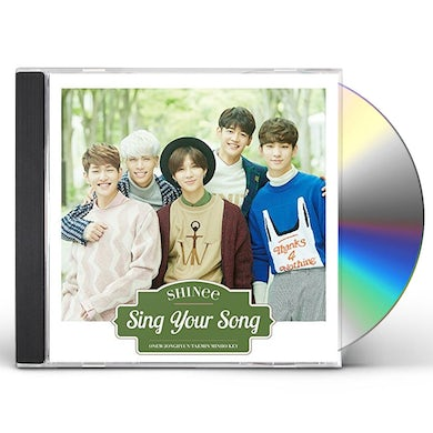 SHINee SING YOUR SONG CD