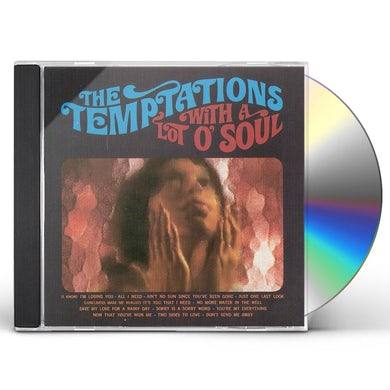 The Temptations WITH A LOT O SOUL CD
