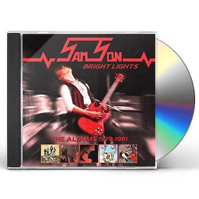 Samson BRIGHT LIGHTS: ALBUMS 1979-1981 CD