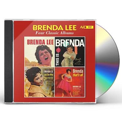 BRENDA LEE / THIS IS BRENDA / ALL THE WAY CD