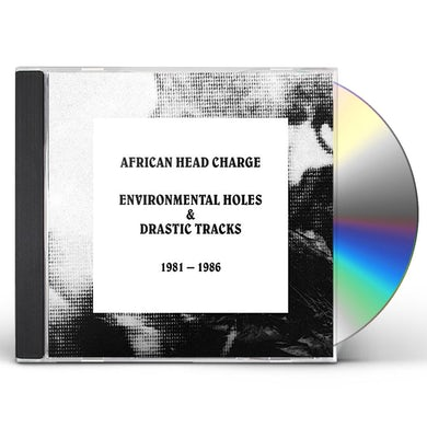 African Head Charge ENVIRONMENTAL HOLES & DRASTIC TRACKS: 1981-1986 CD