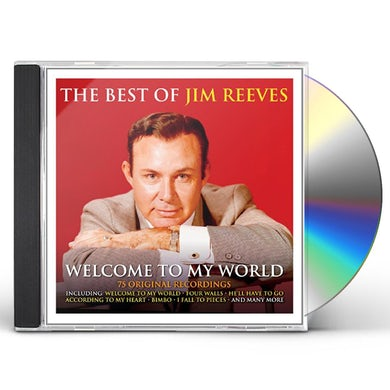 Jim Reeves WELCOME TO MY WORLD THE BEST OF CD