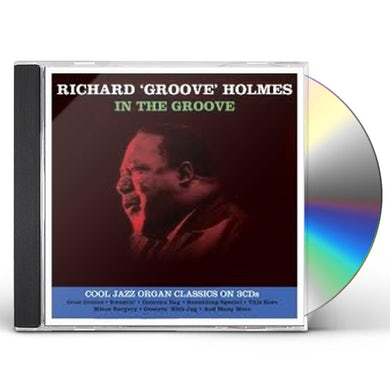 Richard Holmes IN THE GROOVE CD