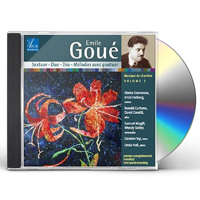 Var EMILE GOUE: CHAMBER MUSIC 3 CD