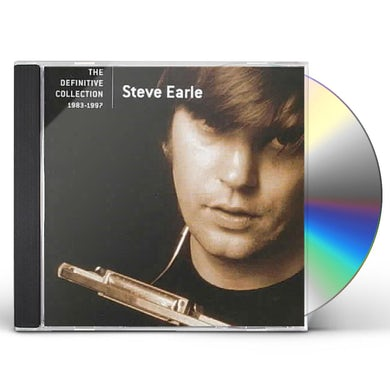 Steve Earle & The Dukes DEFINITIVE COLLECTION CD