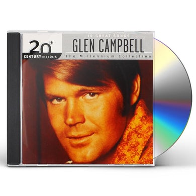 Glen Campbell MILLENNIUM COLLECTION: 20TH CENTURY MASTERS CD