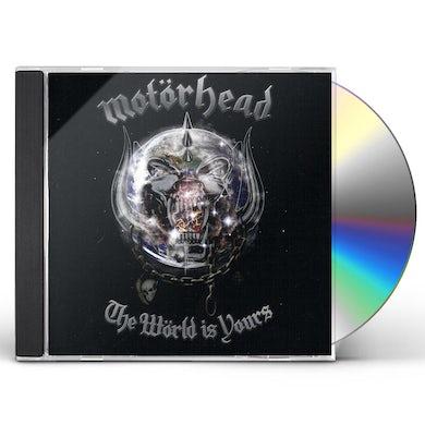 Motorhead WORLD IS YOURS CD