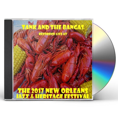 Tank and the Bangas LIVE AT JAZZFEST 2017 CD
