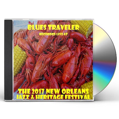 Blues Traveler LIVE AT JAZZFEST 2017 CD