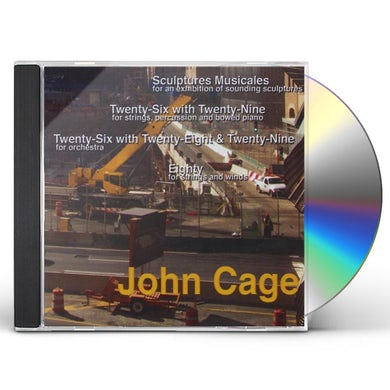 John Cage SCULPTURES MUSICALES CD