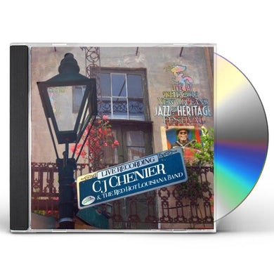 C.J. Chenier LIVE AT JAZZFEST 2013 CD