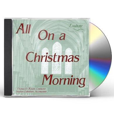 Exultate ALL ON A CHRISTMAS MORNING CD