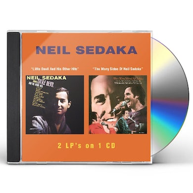 Neil Sedaka LITTLE DEVIL & HIS OTHER HITS / MANY SIDES OF NEIL CD