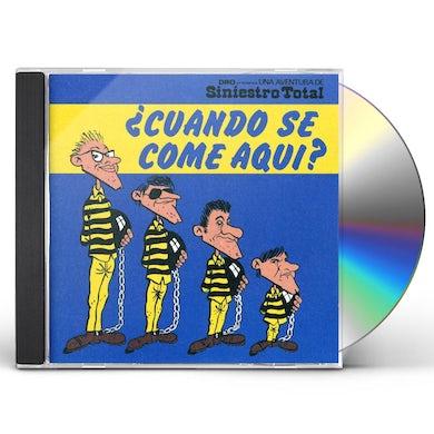 Siniestro Total CUANDO SE COME AQUI CD