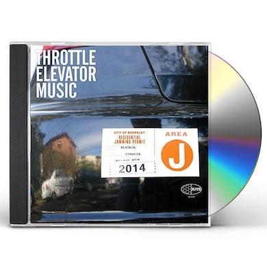 Throttle Elevator Music AREA J CD