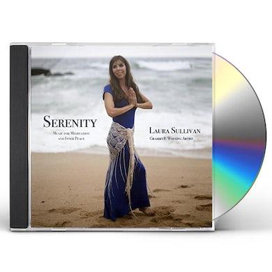 Laura Sullivan SERENITY: MUSIC FOR MEDITATION & INNER PEACE CD